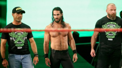 DX and The Kliq help Seth Rollins fend off The O.C.: Raw Reunion, July 22, 2019
