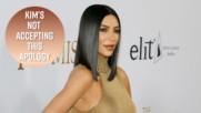 Kim Kardashian's Paris robber sends apology letter