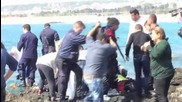 Migrant Ship Sinks in Rhodes