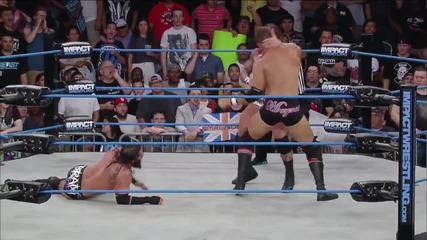 Bram and Magnus vs. Mr. Anderson and Gunner (july 24, 2014)