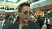 Avengers Age of Ultron European Premiere: Robert Downey Jr.
