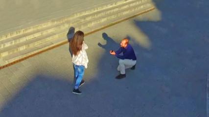 Уникално предложение за брак с флашмоб в Пловдив