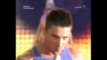 Сергей Лазарев на живо от Юрмала - Love to hate you [25.07.2008]