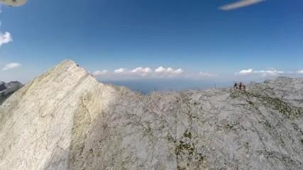 Дрон над феномена Кончето и връх Вихрен! Това е България, за нея са умирали смели мъже