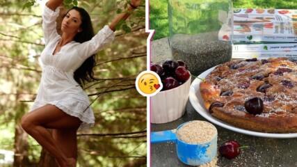 Биляна Йотовска с много съблазнителен кадър и идея за вкусен и здравословен десерт