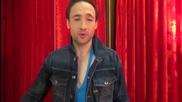 Dancing Stars - Дарин благодари за подкрепата на зрителите (17.04.2014г.)