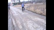 дрифт с колело - част1