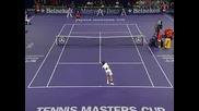 Masters Cup 2005 : Федерер - Налбандиан | 5ти сет