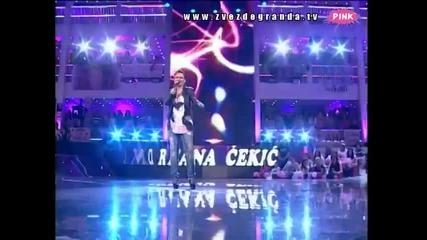 Andreana Čekić - Dobro jutro lepi moj (Zvezde Granda 2010_2011 - Emisija 32 - 14.05.2011)
