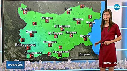 Прогноза за времето (11.12.2018 - обедна емисия)