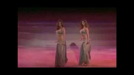 Kaya i Sadie Belly dance