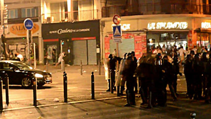 France: Algeria fans clash with police at Marseille AFCON victory celebrations