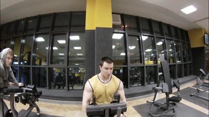 Тренировка за крака с Искрен Михайлов !