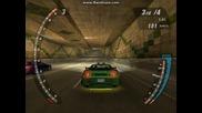 Драг с Mitsubishi 3000gt на Need For Speed U 2