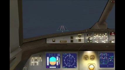 Airbus A321 Foggy Landing!