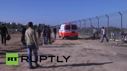 State of Palestine: Israeli forces fire on Palestinian protesters in Gaza Strip