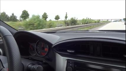 Звяр! Subaru Brz Top Speed + Sound Hd