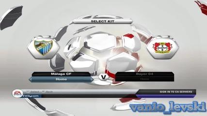 Fifa 2013 Malaga vs Bayer Leverkusen - Епизод 1