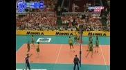 Световна Лига - България - Бразилия 3 - 2