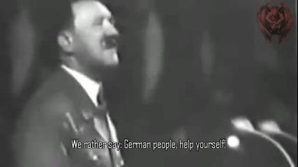 Зимна помощ-реч на Адолф Хитлер 1937г.