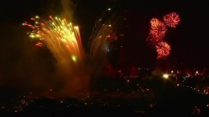 Честита 2010 Година - Невероятни Фоерверки