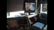 Гледане на Тв в камиона
