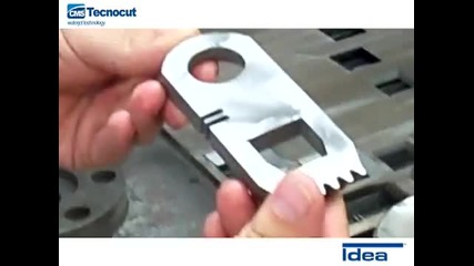 Idea - Cms Tecnocut Waterjet Technology