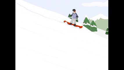 Snowboarding - Готова Windows Movie Maker анимация