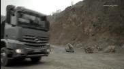 Mercedes Benz Arocs най-добрите камиони на пазара