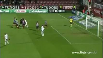 Лош мач за Ивелин Попов автогол+пропусната дузпа Trabzonspor 4 - 1 Gaziantepspor