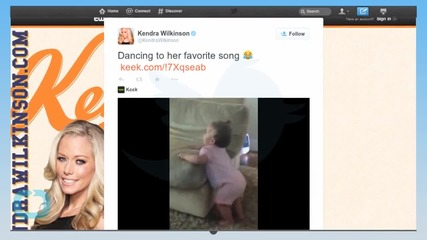 Kendra Wilkinson-Baskett Shares a Video of Daughter Alijah Dancing to