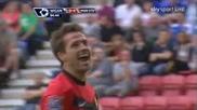 22.08 Уигън - Манчестър Юнайтед 0:4 - Гол на Майкъл Оуен