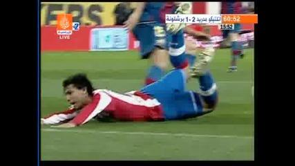 01.03 Атлетико Мадрид - Барселона 4:2 Диего Форлан гол