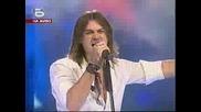 Music Idol 2 - Изпълнението На Тома crying  in the rain(05.05.2008)