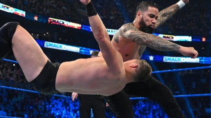 The Usos vs. The Miz & John Morrison: SmackDown, Feb. 28, 2020