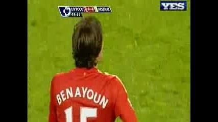 21.04 Ливерпул - Арсенал Йосси Бенаюн