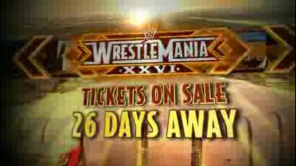 Wrestlemania 26 promo