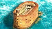 Загадъчната Крепост в Атлантическият Океан и Неговата Странна История