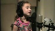 Талантлива 7 г. певица