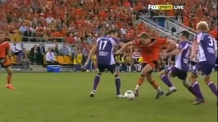 2012 A-league Grand Final Brisbane Roar Penalty