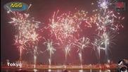 Компилация Нова Година фойерверки от всички страни