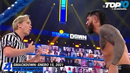 Top 10 Mejores Momentos de SmackDown En Español: WWE Top 10, Ene 15, 2021