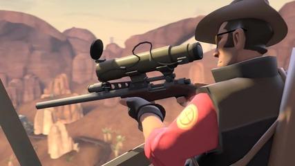 Team Fortress 2:meet the Sniper
