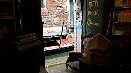 Italy: Acqua Alta bookshop loses 'thousands' of books in Venice floods
