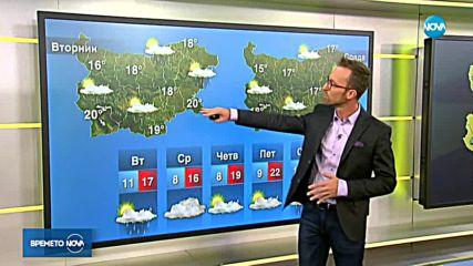 Прогноза за времето (24.09.2018 - сутрешна)