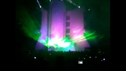 Светлинно шоу - Благоевград !!! 05.10.2012