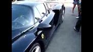 Ferrari Enzo and Porsche 997 Gt3 Mattblack Carbon