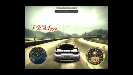 Засечен с 266км/ч Need for Speed Most Wanted