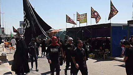 Iraq: Thousands walk to Karbala in Arbaeen pilgrimage