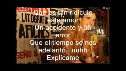 Luis Fonsi - Explicame (con letra)